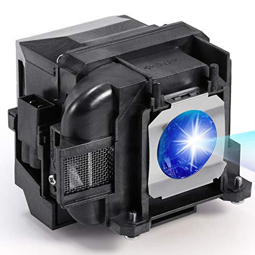 AuKing Lampada per Proiettore per Epson ELPLP88 EB-U04 EB-S04 EB-S27 EB-U32 EH-TW5300EH-TW5350EH-TW5210EX3240EX5240EX5250EX7240 EX9200 PowerLite 1040 2040 2045 VS240 VS340 VS345 Videoproiettore