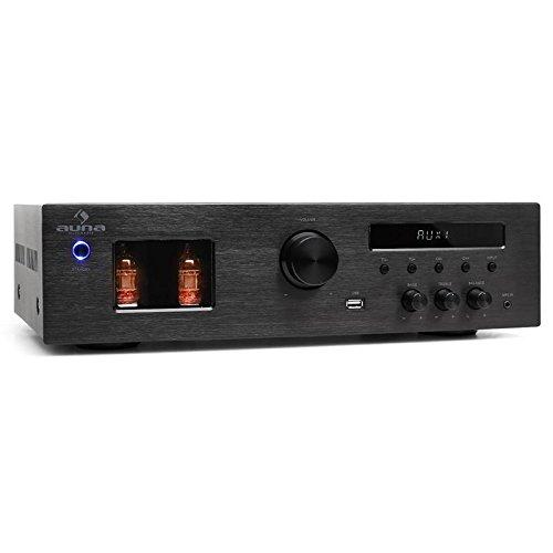 Auna Tube 65 Casa Cablato Nero amplificatore audio