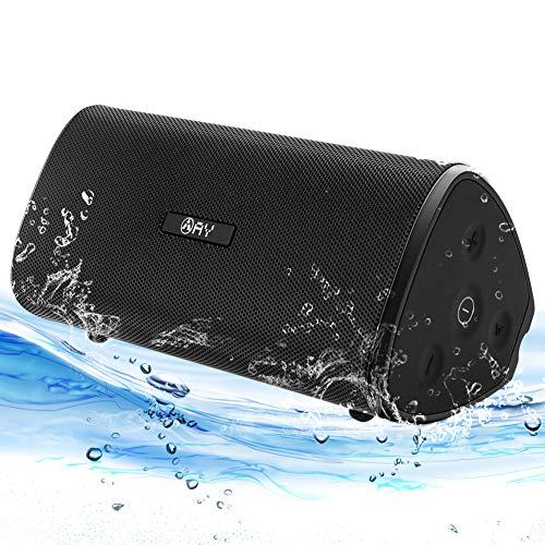 AY Casse Bluetooth 30W, Altoparlante Bluetooth 5.0 Portatile Audio Stereo 360 Bass con TWS, Impermeabile IPX7, Microfono Incorporato, 24H Ore di Riproduzione per Barca,Campeggio,Casa, Festa,Viaggio.