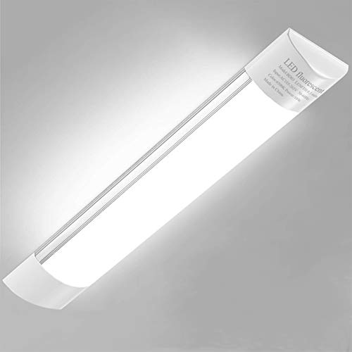 Barra LED Cucina, Sararoom 60cm Luce Sottopensile lampada Tubo LED Luminosa 2400 Lumen Bianco Neutro, 20w, 190-270V
