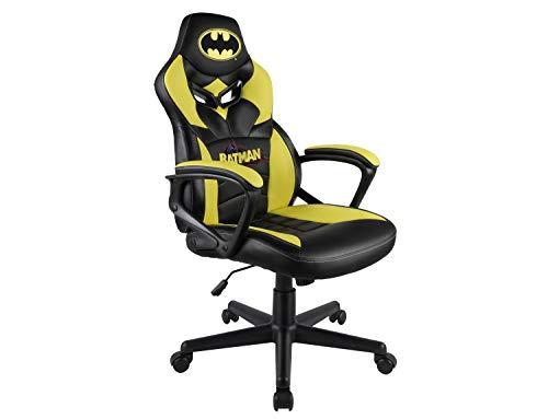 Batman - Sedia Gaming Junior - Sedia da Gioco - Sede da Ufficio - Licenza Ufficiale DC comics - Not Machine Specific