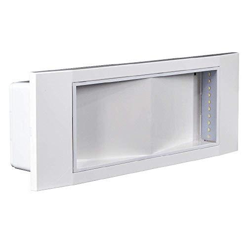 Beghelli Lampada di Emergenza LED, Bianco, STANDARD