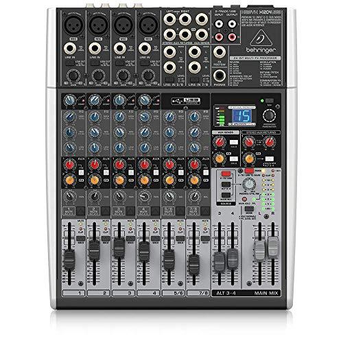 Behringer Xenyx X1204USB Mixer Professionale con Processore Effetti e Interfaccia Audio e USB
