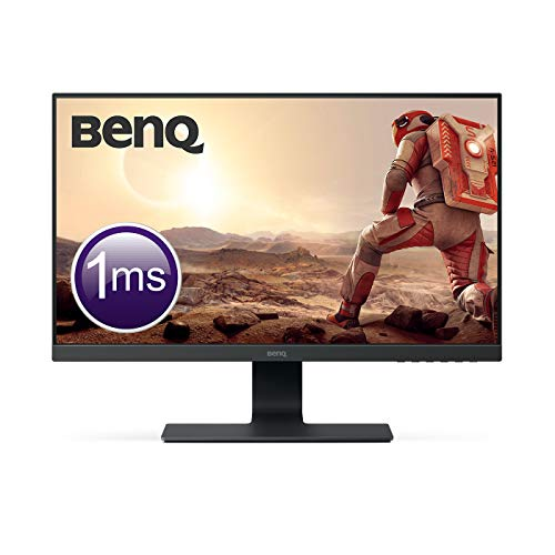BenQ GL2580H Monitor LCD, 24.5 Pollici, FHD 1080p, Tecnologia Eye-Care, 1 ms, HMDI, Nero