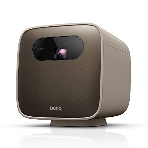 BenQ GS2 Videoproiettore LED Wireless Portatile per Esterni, Altoparlante Bluetooth, IPX2, HDMI, USB-C