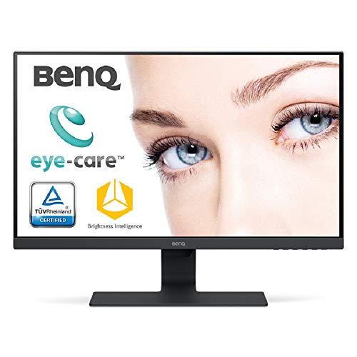 BenQ GW2780 Monitor LED Eye-Care da 27 Pollici, Pannello IPS Full HD, 1920 x 1080, HDR, Slim Bezel, Sensore Brightness, HDMI/DP