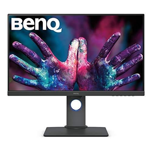 BenQ PD2700U 4K HDR Monitor per Designer Grafico UHD 27 Pollici UHD (3840 x 2160 Pixel), 100% Rec.709/sRGB, Nero