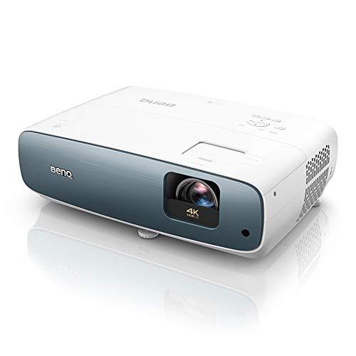 BenQ TK850i Proiettore Smart True 4K HDR-PRO Home Entertainment, 3000 ANSI Lumen, 98% Rec.709, Lens Shift & Keystone per un Montaggio Semplice, Proiettore 3D per Maratone Televisive