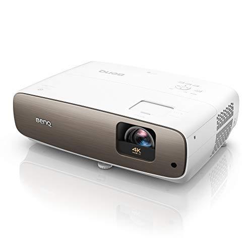 BenQ W2700i Proiettore Smart True 4K HDR-PRO per Home Theatre, Google Play, Amazon Prime, Proiezione Wireless, HDR-PRO, 95% DCI-P3 & 100% Rec.709, Lens Shift & Keystone per un Montaggio Più Semplice