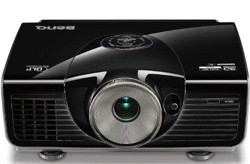 BenQ W7500 Videoproiettore 1080p FHD 3D, Nero [Vecchio Modello]