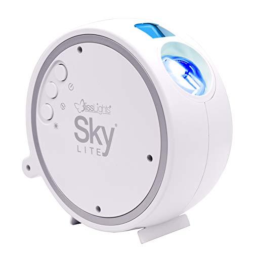 BlissLights Sky Lite - Proiettore LED Nebula per la Casa, Decorazione della Stanza, Luce d'atmosfera e Luce Notturna (Stelle Blu)