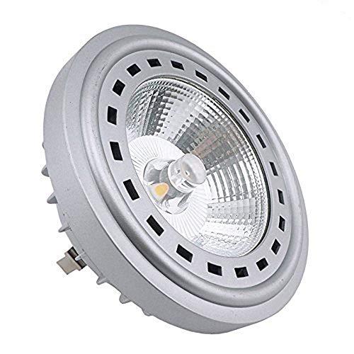 Bonlux 12W LED AR111 12V Bianco 2700K 24 gradi Cree COB LED AR111 G53 riflettore della lampada alogena da 75W sostituzione caldo …