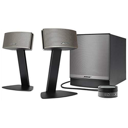 Bose Companion 50 Sistema di altoparlanti multimediali, Nero / Champagne