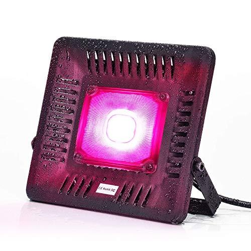 Bozily Lampada per Piante LED IP67 Impermeabile 150W COB, Spettro Completo Coltivazione Crescita, Coltiva la Luce d'Appartamento, Serra, Coltura Idroponica, Giardini all'Aperto (150)