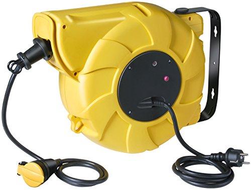 Brennenstuhl 1241201 - Avvolgicavo elettrico automatico, ABE IP44 20 + 1,5 m H07RN-F 3G1,5