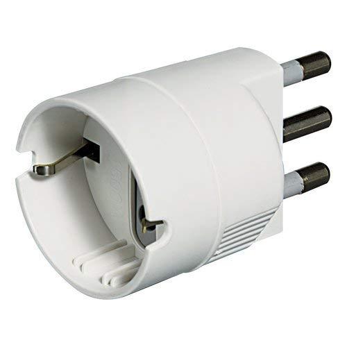 BTicino kit - adattatore spina 16A/presa P30 bco