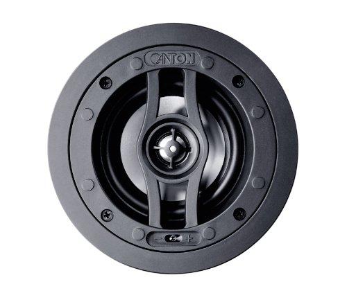 Canton inCeiling 02923 - Coppia di Diffusori da incasso, 86,5 dB, potenza nominale/musicale applicabile 50/100 watt, colore: Bianco