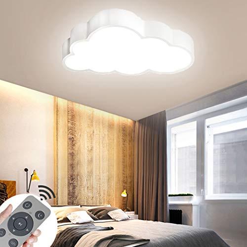 CASNIK LED luce di soffitto lampada Nuvole Plafoniera a LED del soffitto disimpegno camera da letto della lampada salotto energetico cucina risparmio di luce (bianco-64W Dimmerabile)