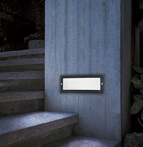 CGC Lampada da parete per esterno in acciaio inossidabile a LED 4000k IP65 240V per mattoni marini