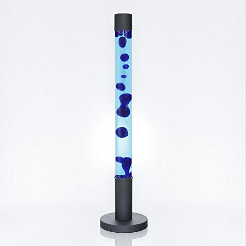 Cilindro lampada lava design XXL 76cm blu Luce di atmosfera Camera dei giovani Soggiorno ALAN