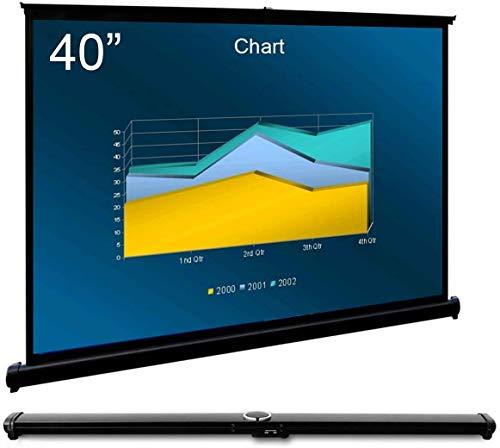 """Cocar 40""""(32"""" x 24"""" diagonale) Schermo Proiezione Videoproiettore per Proiettore alla Parete Portabile Universale - 4: 3 (16: 9 compatibile)"""