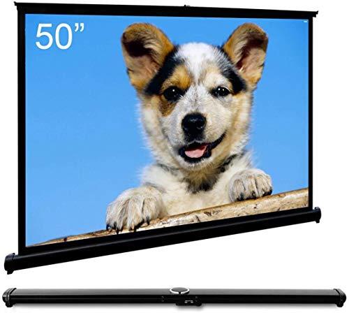 """Cocar 50""""(40"""" x 30"""" diagonale) Schermo Proiezione Videoproiettore per Proiettore alla Parete Portabile Universale - 4: 3 (16: 9 compatibile)"""