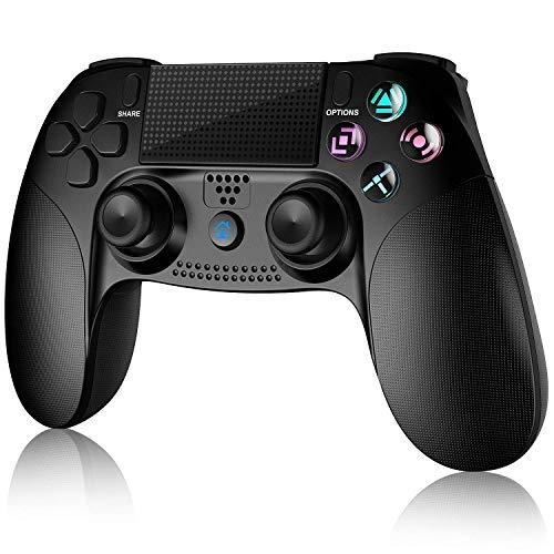 Controller per PS4, Gamory Controller Wireless Gamepad Joystick per PlayStation 4/ PS4 Slim/ Pro/ PS3, Controller Touch Panel con Doppia Vibrazione a Sei Assi e Audio