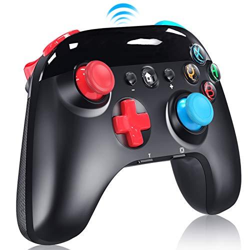 Controller Wireless per Nintendo Switch, Switch Pro Controller Bluetooth con Turbo, 6 Gyro Axis Dual Shock Vibrazione Supporta Nintendo Switch Pro/ Lite/ PC