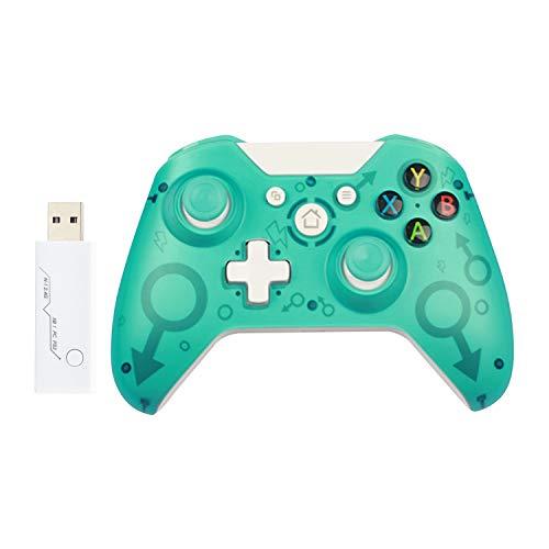 Controller wireless Xbox One e PS3 joystick supporto PC per Windows 7/8/10 , gamepad xbox series x Doppial-vibrazione, design più ergonomico