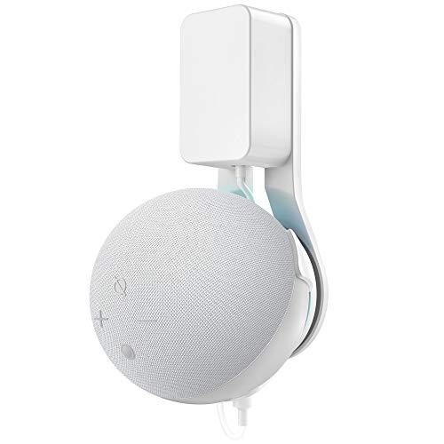 Cozycase Supporto Dot 4ª generazione - Gestione dei cavi da incasso, Accessori per cucina, camera da letto, bagno (1-Pack, Bianco)