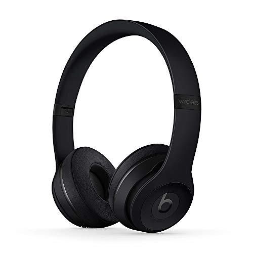 Cuffie Beats Solo3Wireless – Chip per cuffie AppleW1, Bluetooth di Classe 1, 40 ore di ascolto - Nero