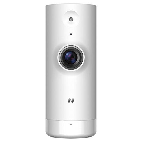 D-Link DCS-8000LH Mini Telecamera Wi-Fi, Visualizzazione Grandangolare 120°, Streaming 720p HD, Bianco