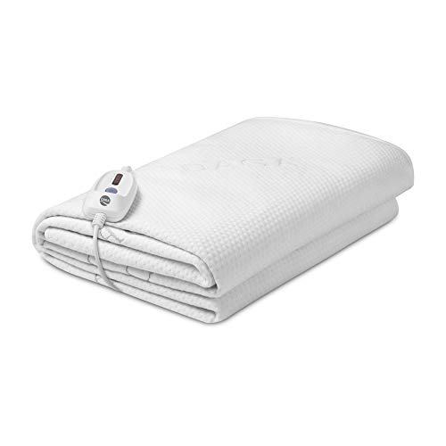 Daga Coperta elettrica Flexy Heat CIN PROTECT, Riscaldamento veloce, Doppia funzione: riscaldaletto e protettore, Impermeabile, Traspirante, 190x90