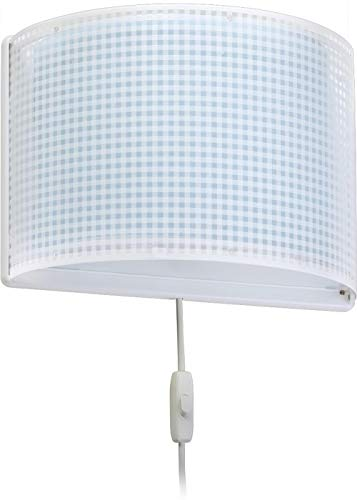 Dalber - Lampada da parete E-27, Blu, Multicolore, 31 x 14.5 x 22.5