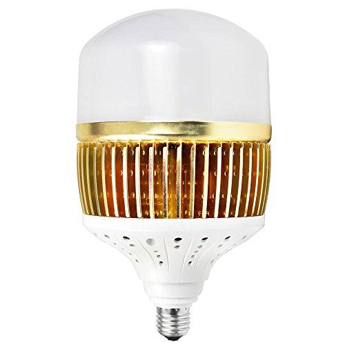 daskoo CL q100 W elevati Lumen E27 100 W = 800 W LED globo lampada in alluminio Fin + PC Copertura Bianco freddo 13000lm AC 85-265 V per fabbrica, magazzino, officina, garage, giardino, Supermercato