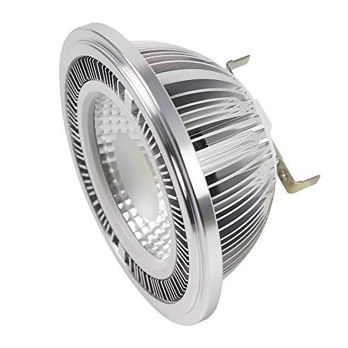 DASKOO G53 AR111 Lampadine a LED Faretto COB 20W, (equivalenti a 160W), luce Bianca Freddo 6000K, AC 85-265V, 1800LM