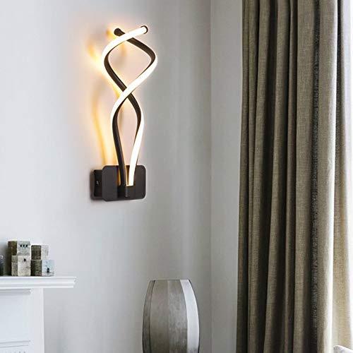 DAXGD Lampade da Parete Moderne, Applique da Parete a LED da 16W 40CM per la Decorazione del Comodino della Camera da Letto del Soggiorno