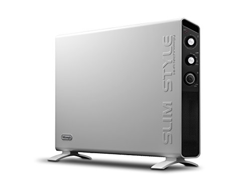 De'Longhi HCX3220FTS Slim Style Convettore Elettrico, Bianco, 43 Decibel