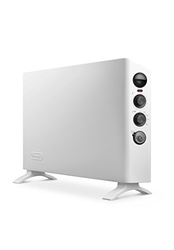 De'Longhi HSX3320FTS Slim Style Convettore Elettrico, 230 Decibel, Plastica, Bianco