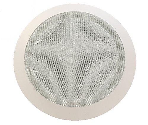 DOBO® Altoparlante Filodiffusione cassa audio da incasso per soffitto e parete con installazione a molla (Diametro 16 CM)