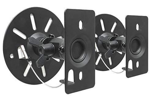 DRALL INSTRUMENTS Supporti a Parete da 2 Pezzi per Casse Altoparlante diffusore orientabile inclinabile Modello di Montaggio Altoparlante: BS9B