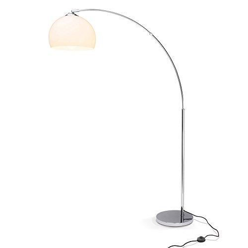 Duncan stand luce, Lounge arco lampada, H: 166 cm, B: 122 cm, Ø 30 cm, 1 x E27 max, 60 W