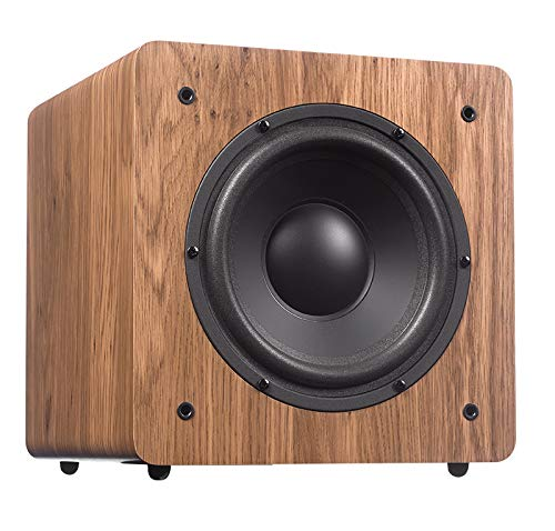 """DYNAVOICE 8"""" Subwoofer Attivo Challenger Sub-8 Rovere Naturale"""