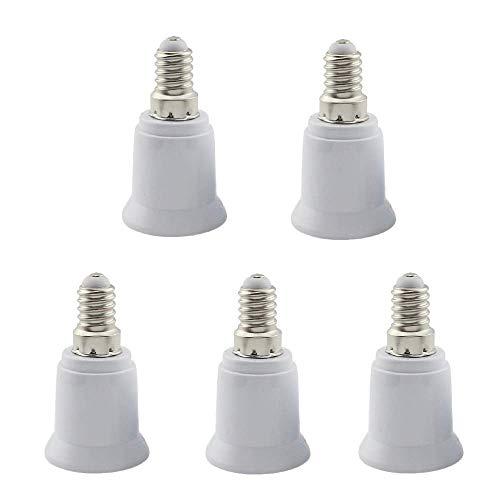 E14 a E27 Portalampada portalampada E14-E27 Portalampada a lampadina 5 pacchi