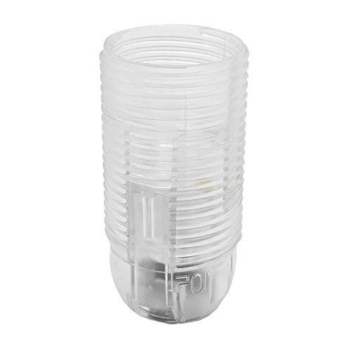 E14 Presa a vite termoplastica trasparente M10x1 Attacco filettato per lampada a incandescenza e LED con filettatura