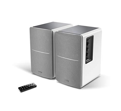 Edifier - Impianto stereo Con Bluetooth e ingressi digitali bianco