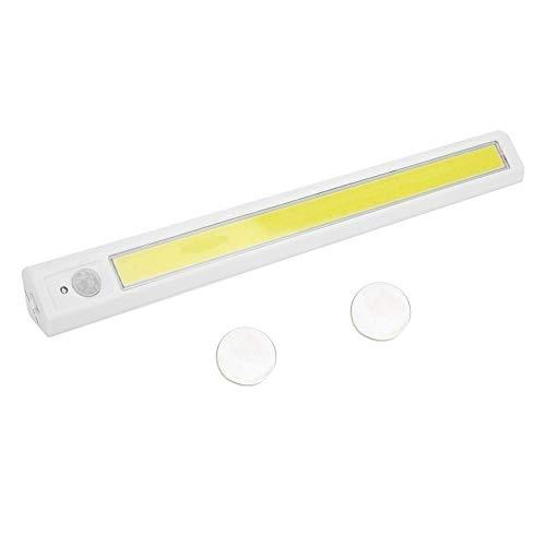 eecoo Luce Notte LED, Lampada Guardaroba con Sensore Movimento, Luce Notturna a Batteria COB per armadi, Scale, corridoi, frigoriferi, Garage, ripostigli
