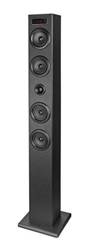 ELBE tw-403-bt–Torre audio Bluetooth USB con Display, colore: nero