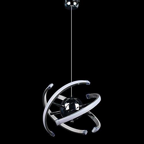 ELINKUME LED lampada a sospensione design moderno lampadario soggiorno sala da pranzo (23W)