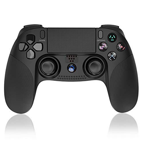 ELYCO Controller Wireless per PS4, Classici Bluetooth Senza Fili Gamepad Joystick per Playstation 4 Controller con Joypad del Doppia Vibrazione per PS4 Caricabatterie Console